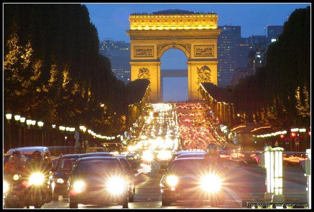avenida Champs-Élysées, Paris/Fr
