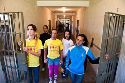 Em oito celas abertas, diferentemente de todas as outras instalações, a higiene e a organização são regras para a boa convivência (Fotos: Andréa Graiz)