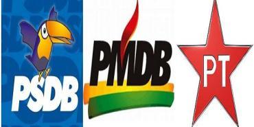 PMDB PT PSDB