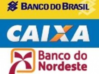 Resultado de imagem para banco do brasil, caixa e banco do nordeste