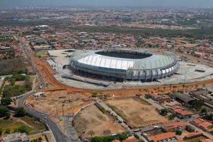 Arena Castelão: a única obra completa para a Copa das Confederações
