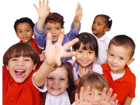 crianças-escola