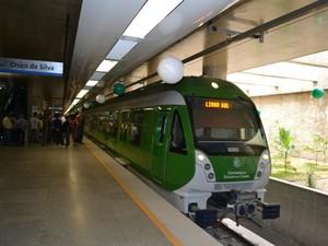 Quando concluída, linha Sul do Metrofor terá percurso de 24 quilômetros (Foto: G1)