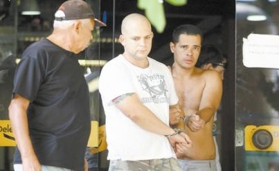 Acusados de agredir nordestino, neonazistas são transferidos para a Polinter   Foto: Alexandre Vieira / Agência O Dia