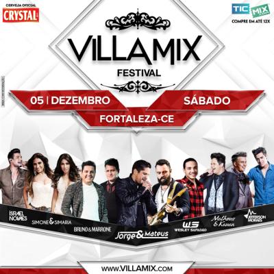 Villa Mix Festival Fortaleza Acontece Neste Sábado 0512 No